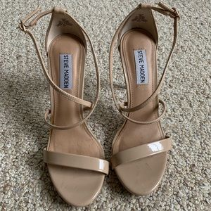 Strappy Steve Madden heels